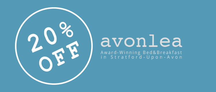 Discount on Stratford Bed and Breakfast