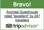 Stratford Guesthouse with TripAdvisor Excellent Rating